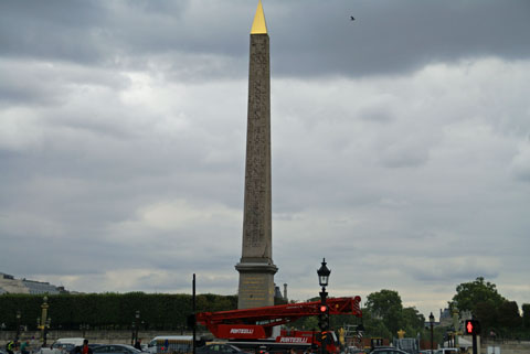 Paris(Place de la Concorde)オベリスク1.jpg